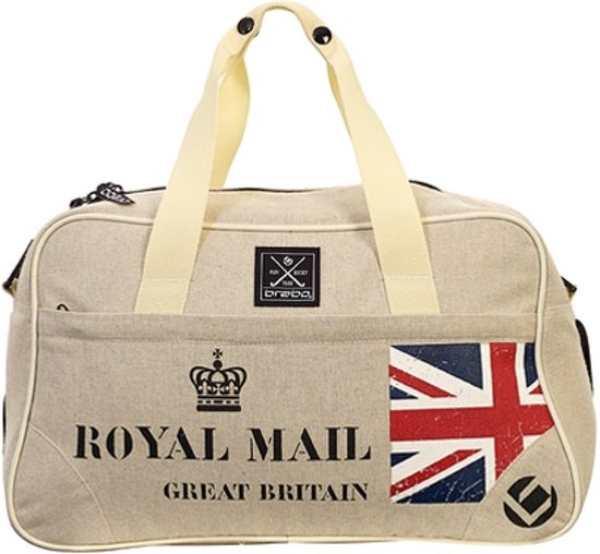 Brabo Post Deluxe Royal Mail schoudertas - Tassen  - beige - One size