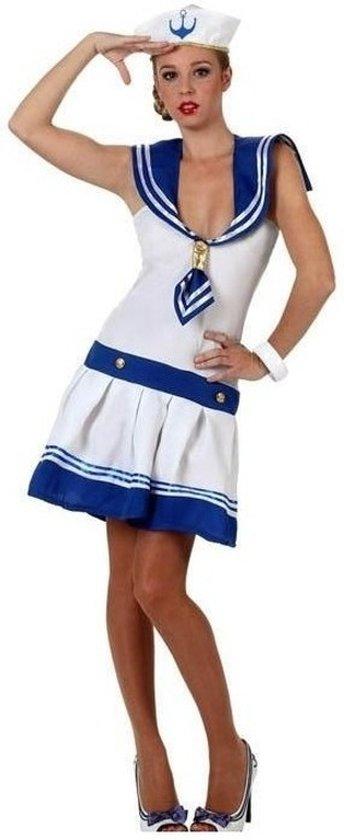 Matrozen kostuum / jurkje voor dames - carnavalskleding dames XL (42-44)