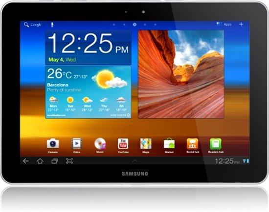 Samsung Galaxy Tab 10.1 (WiFi) - Zwart