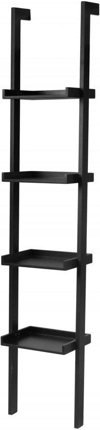 artichok boekenkast ladder noah smal zwart