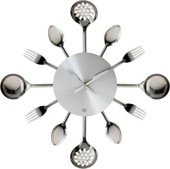 Pt, Silverware Utinsels Small - Klok - Zilver