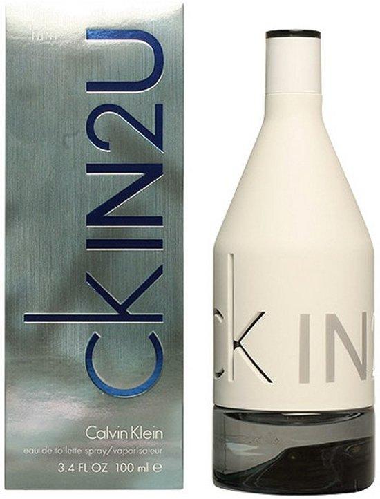 Calvin Klein In2U 100 ml - Eau de Toilette - Herenparfum