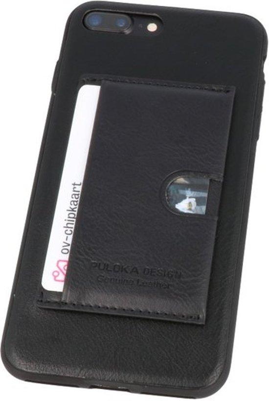 b33b7fd3c19 bol.com | Zwart Hardcase cover Hoesje voor Apple iPhone 7 / 8 Plus