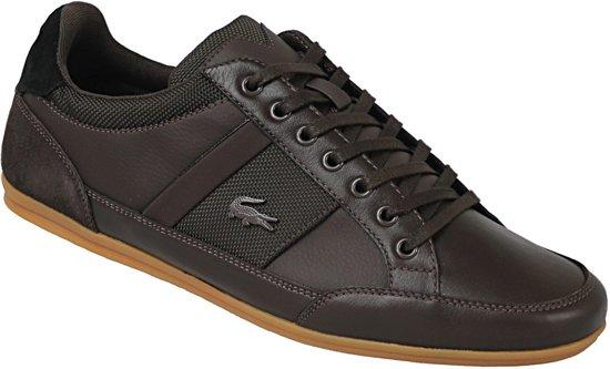 Lacoste Chaymon Heren Sneakers - Bruin - Maat 40