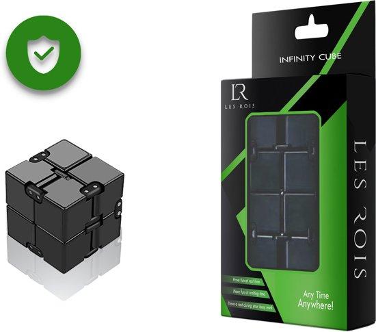 Afbeelding van het spel Infinity Cube rood met zwart.