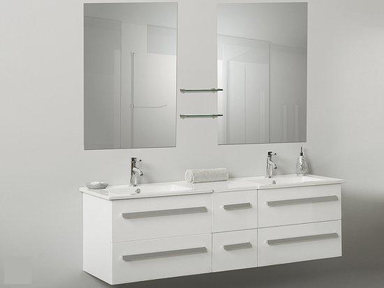 Wastafelkast met spiegel badkamer inspiratie voorbeelden bekijk