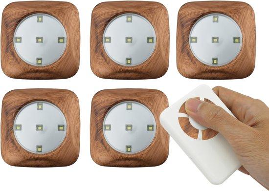O Daddy Lampen : Bol.com odaddy lumi light 6 delige set houtpatroon
