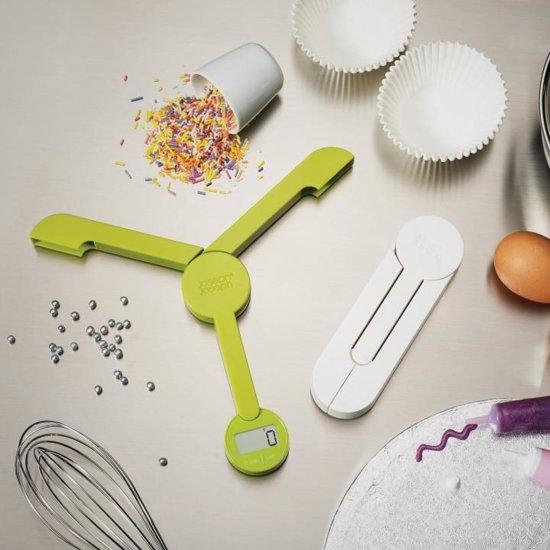 Joseph Joseph TriScale Elektronische Keukenweegschaal - Groen