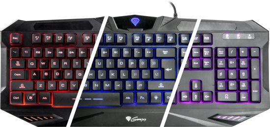 Genesis Gaming Keyboard RX39 - US-layout