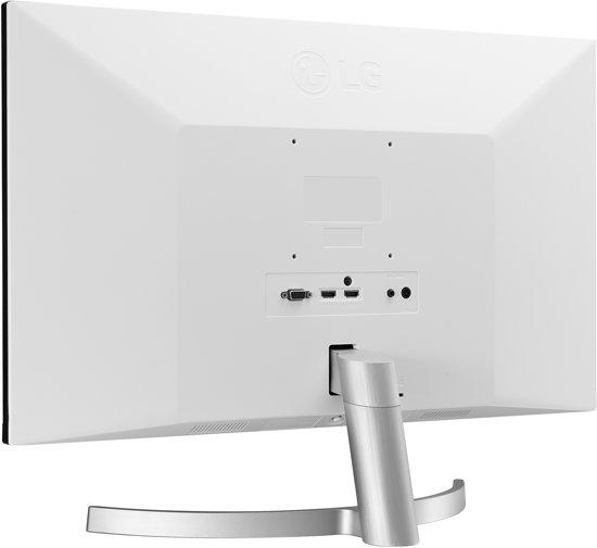 LG 24MK600M-W computer monitor 60,5 cm (23.8'') Full HD Flat Zwart