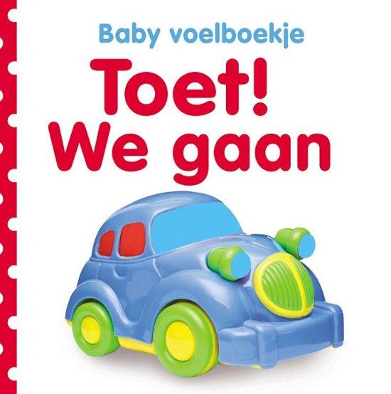 Afbeelding van Baby voelboekje: Toet! We gaan. 0+ speelgoed