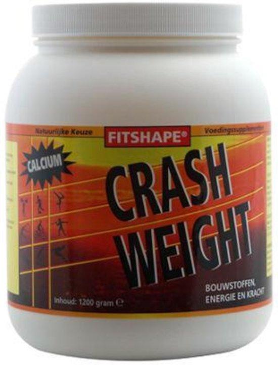 Fitshape Crash weight vanille 1200g