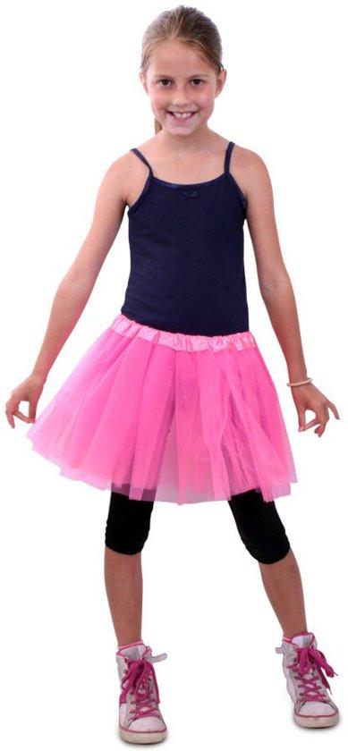65bd3e05de0 Dans & Entertainment Kostuum | Tule Rokje Kinderen Roze Meisje | One size |  Carnaval kostuum