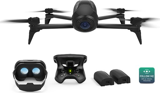 Parrot Bebop2 Drone POWER Black
