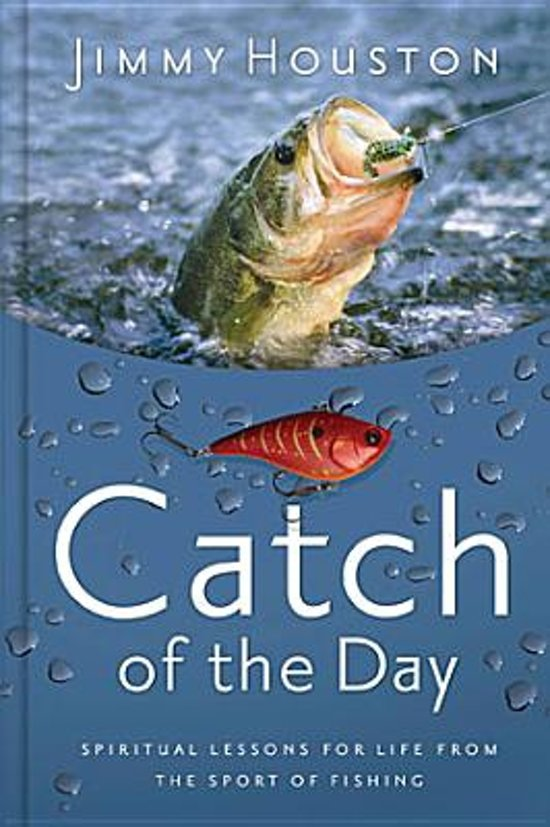 Boek cover Catch of the Day van Jimmy Houston (Hardcover)