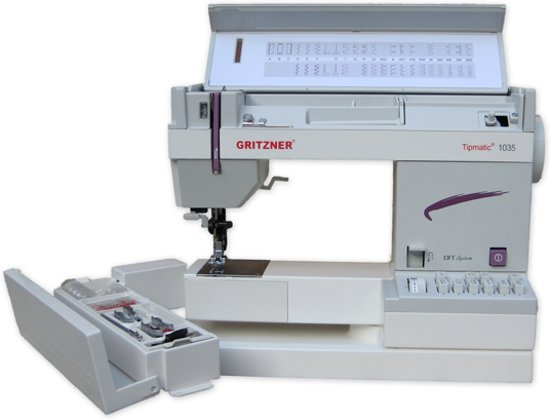 Gritzner Tipmatic 1035 DFT Naaimachine Duitsland