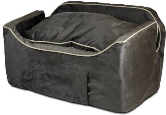 Snoozer Lookout - Autostoel - Autozitje voor honden - Large 76 cm - Dark Chocolate - met lade