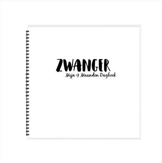 #10 - Mijn 9 maanden dagboek - Zwangerschapsdagboek (21 x 21 cm - Wire 0)