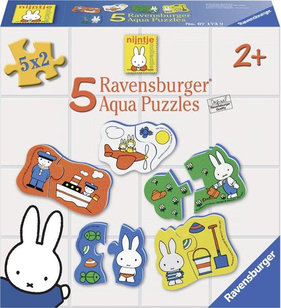 Ravensburger nijntje figuren - Foam puzzel van nijntje