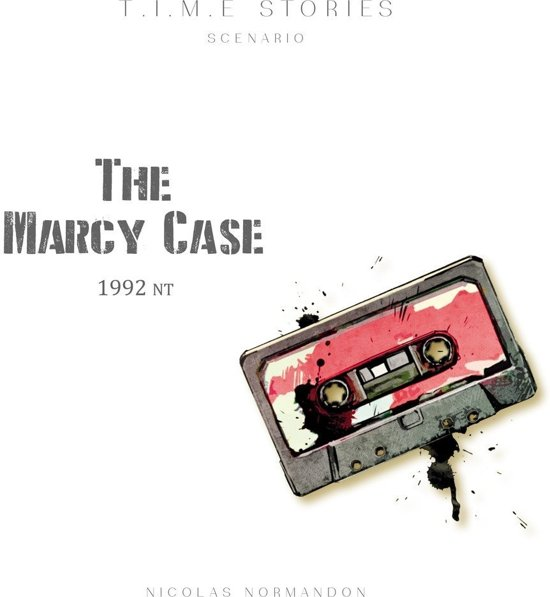 Time Stories The Marcy Case - Uitbreiding - Engelstalig