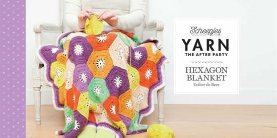 Bolcom Haakpakket Hexagon Deken Van Scheepjes Merino Soft