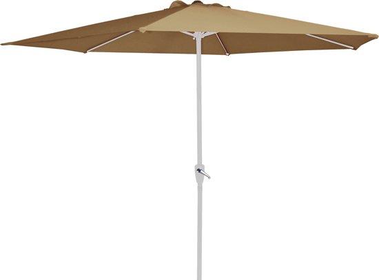 Parasol Libra sand 3mtr