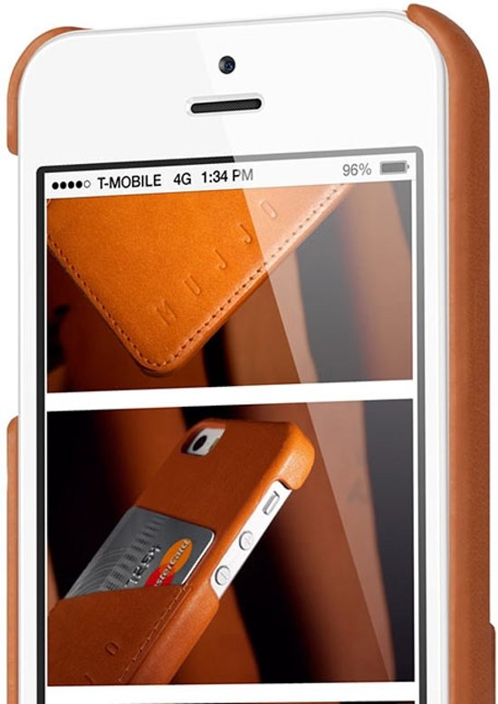 the latest 6ecaf de284 Mujjo Leather Wallet Case for iPhone 8 Plus / 7 Plus Champagne