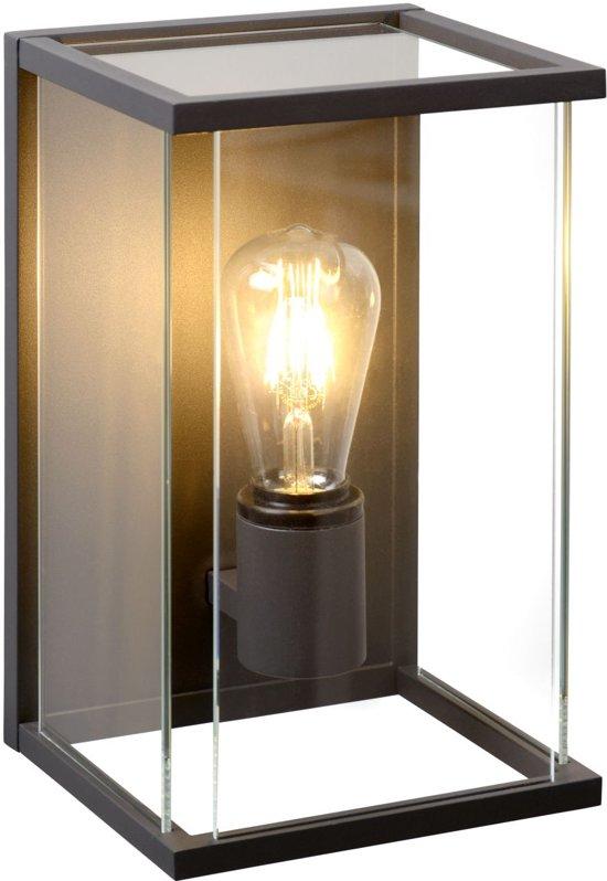 Lucide CLAIRE - Wandlamp Buiten - E27 - IP54 - Antraciet