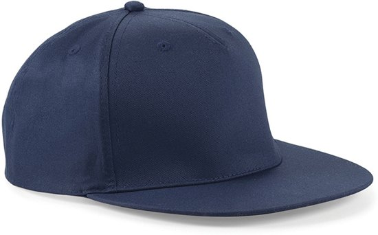 Snapback Rapper Cap - Beechfield - French Navy