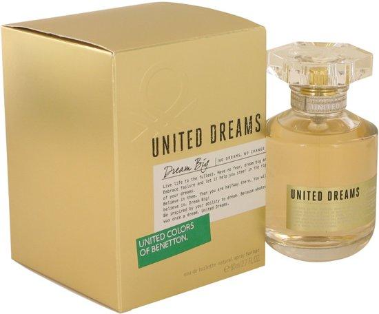 Bolcom Benetton United Dreams Dream Big Woman Eau De Toilette