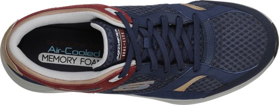 Red Skechers HerenNavy Maat Sneakers SkylineAlphaborne 42 wnkP80OX
