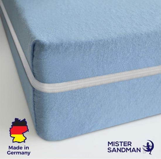 Matras - 90x200  - comfortschuim - blauw