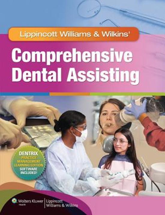 Lww Comprehensive Dental Assisting Text, Study Guide & Prepu Package