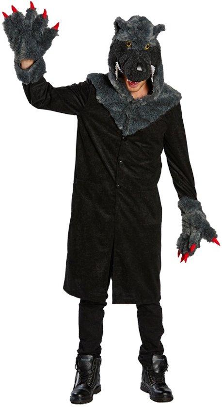 Wolf - Kostuum Volwassenen - Maat 50