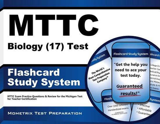 Afbeelding van het spel Mttc Biology 17 Test Flashcard Study System