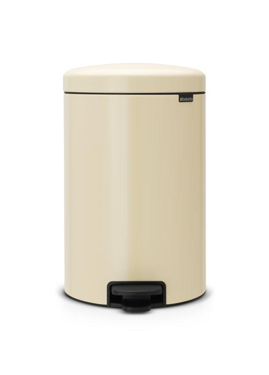 Brabantia NewIcon Pedaalemmer 20 Liter Amandel