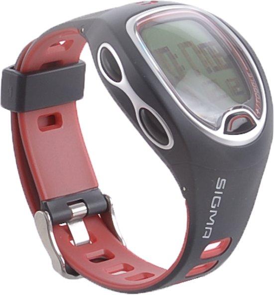 Sigma SC6.12 - stopwatch - Zwart / Rood