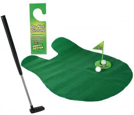 Out of the Blue Potty Putter - Toilet Golf - Set