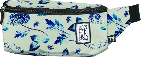 The Pack Society Heuptas - Off White Blue Flower Allover