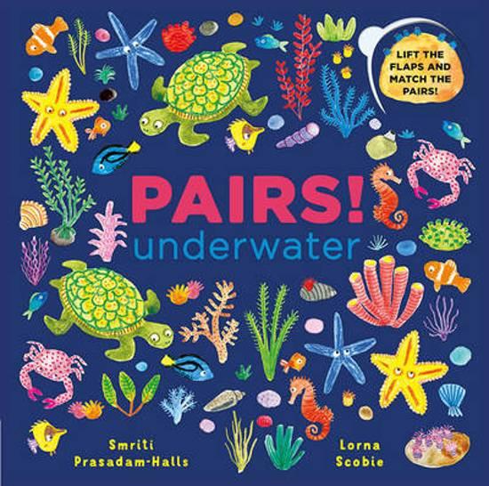 Boek cover Pairs! Underwater van Smriti Prasadam-Halls (Onbekend)