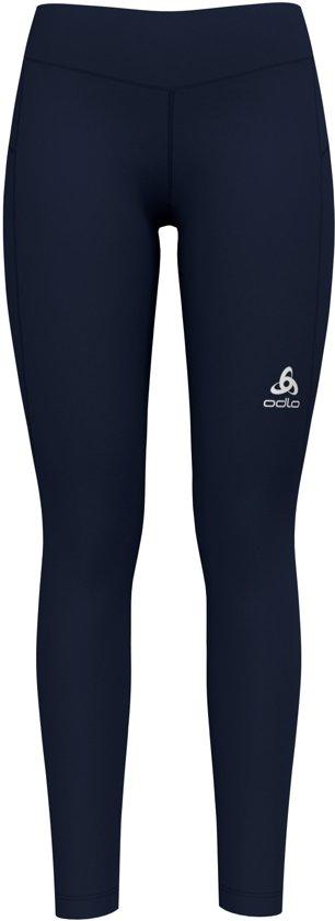 Odlo Bl Bottom Long Core Light Hardloopbroek Dames - Diving Navy