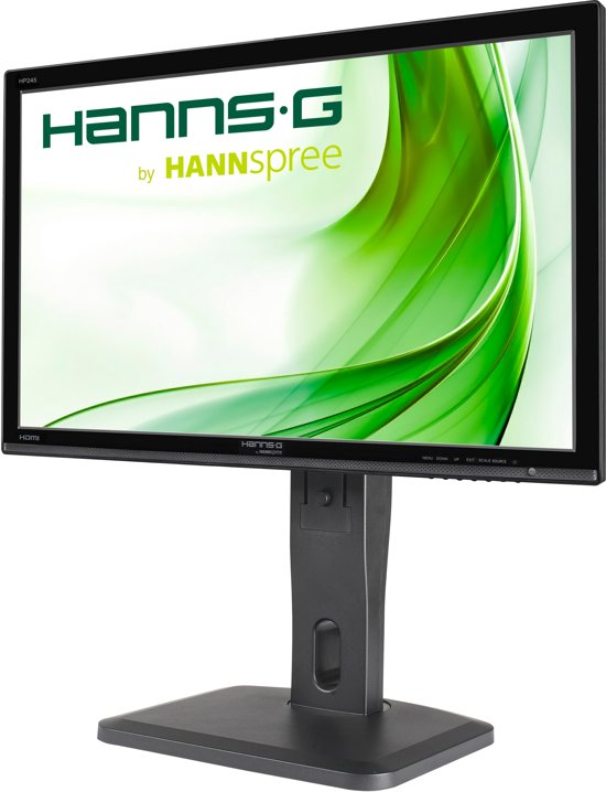 Hannspree Hanns.G HP 245 HJB 23.8'' Full HD LED Flat Zwart computer monitor