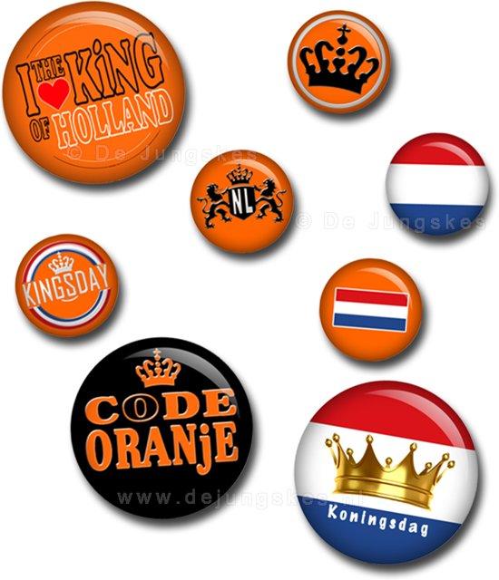 Koningsdag buttons