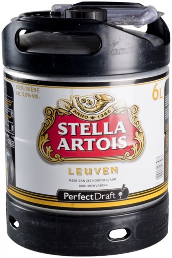 Stella Artois Perfect Draft Tapvat - 1 x 6 L