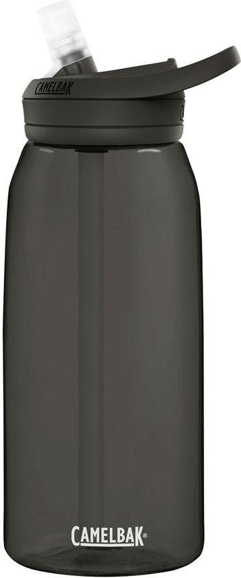 CamelBak Eddy+ drinkfles - 1 L - Antraciet (Charcoal)