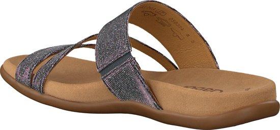 Gabor Dames Slippers 83.703 - Zilver