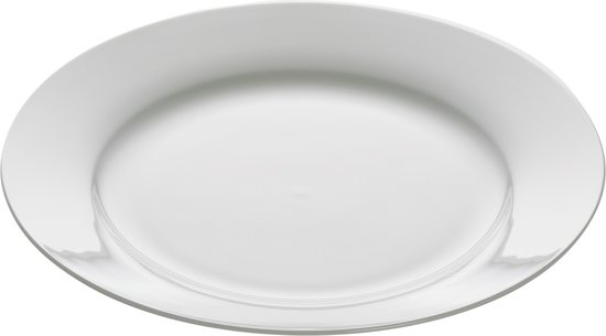 Maxwell & Williams Cashmere Dinerbord - Ø 27,5 cm - Wit