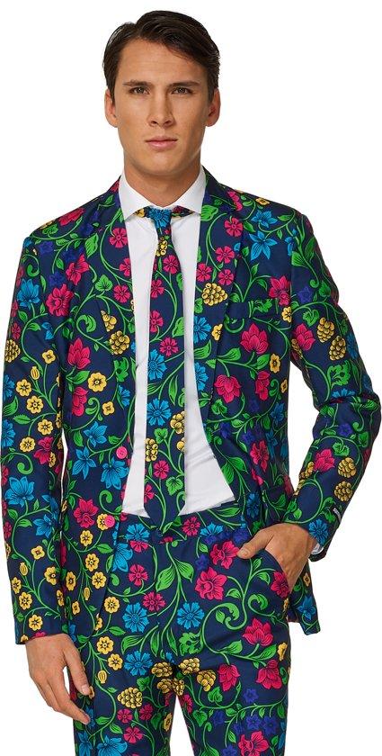 4c5cd188f53445 bol.com   Suitmeister Floral - Mannen Kostuum - Gekleurd - Carnaval ...