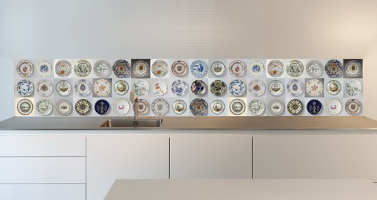 Keuken Behang Afwasbaar : Fotobehang eetkamer modern keuken behang afwasbaar naadloos