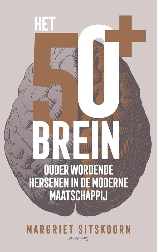 Boek cover Het 50+ brein van Margriet Sitskoorn (Onbekend)
